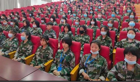 放飞青春,快乐学习!宿迁科技学校女子部培养内外兼修新时代女孩