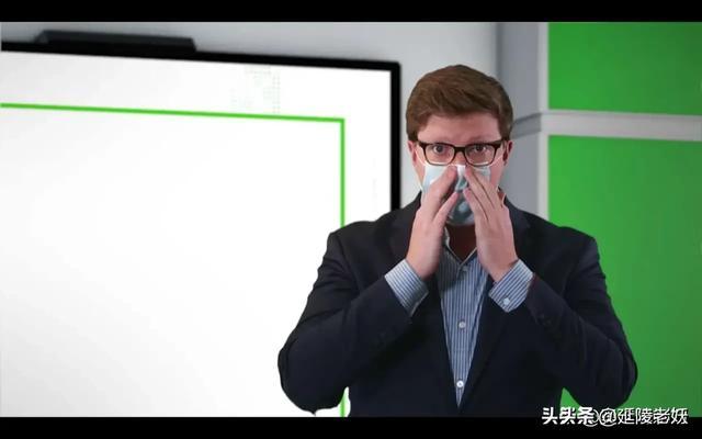 科技巅峰的美国低级谣言,中国生产的口罩中有5G天线!