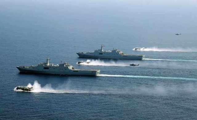 美媒:中美關系緊張加劇,中國加強軍事演習