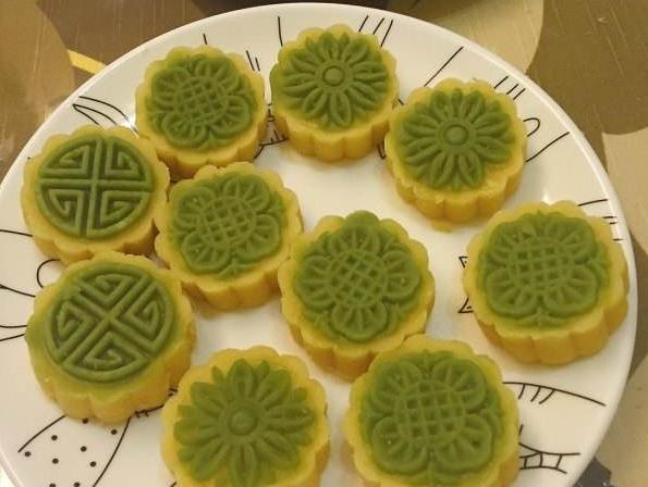 家庭自制绿豆糕_自制绿豆糕