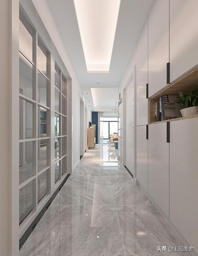 77平紧凑型三房,装修北欧风,闺蜜来家做客都夸好看,心里美滋滋