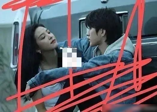 """蔡徐坤《情人》MV拍摄路透,新任""""坤女郎""""章若楠终露面"""