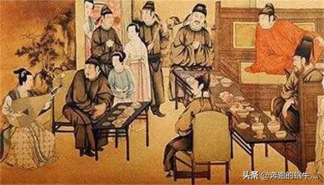 中国古代上流社会的奢侈生活