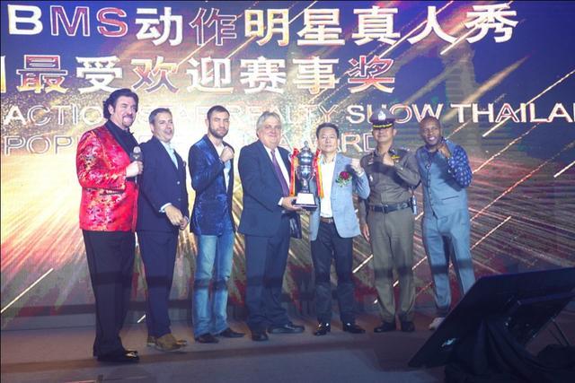 一战成名刮起泰国旋风,荣获泰国最受欢迎赛事奖-宏链财经