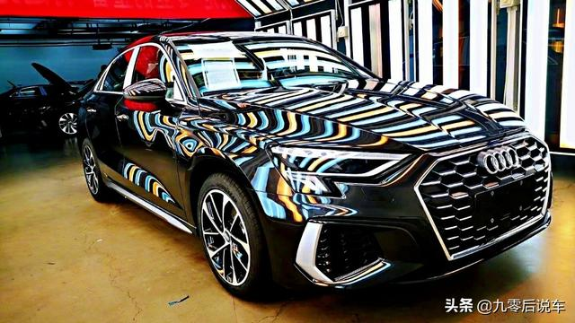 全新奧迪A3兩廂版實車亮相,外觀更加時尚、運動,內飾更具豪華感