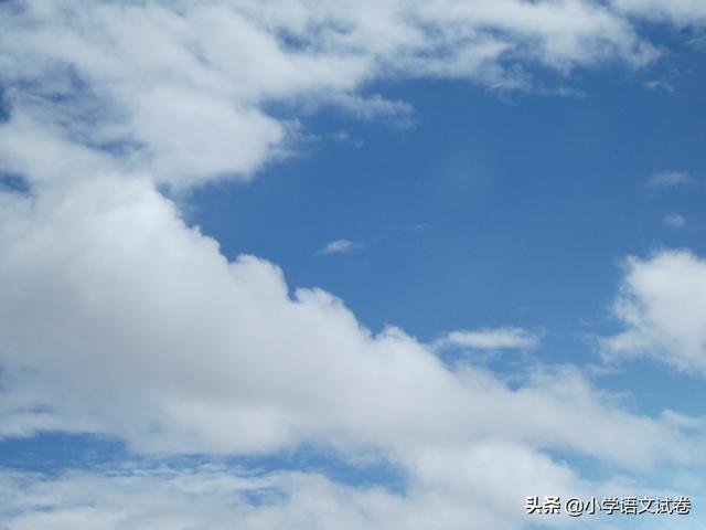 天空像洗过一样干净,天空像什么