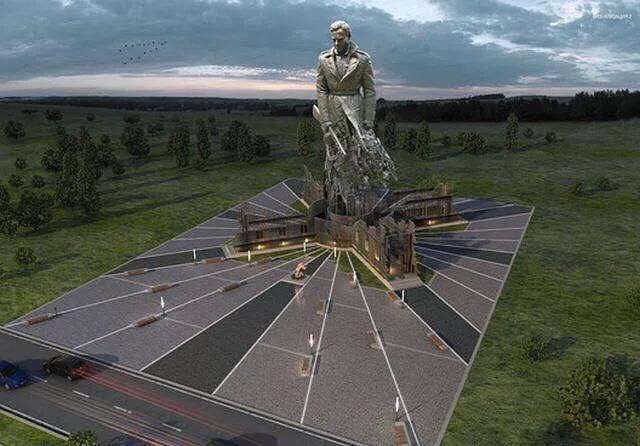 来看看艺术民族 俄罗斯即将建成的二战纪念碑