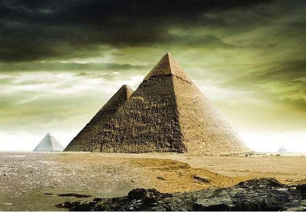 埃及发现古运河遗址揭开金字塔建造之谜