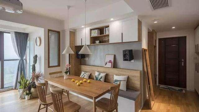 越来越多人家里不买餐桌,头一次见这种设计,美观实用又省空间