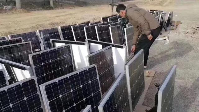 太阳能路灯上的风扇作用