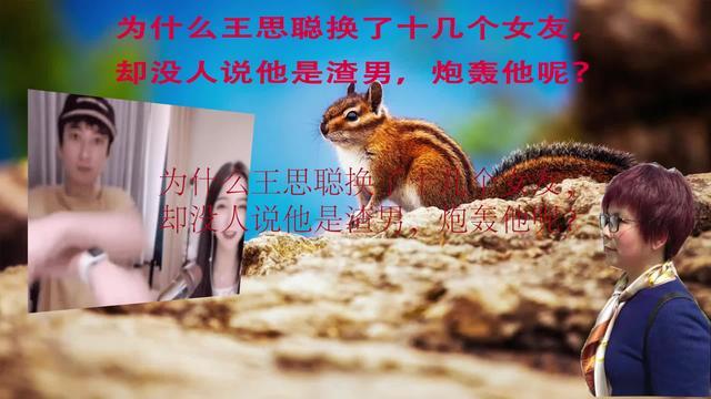 为什么王思聪换了十几个女友,却没人说他是渣男,炮轰他呢