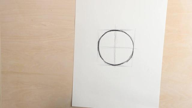 圆的东西素描怎样画才能鼓起来?