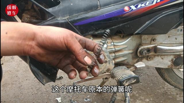 摩托车发动机嗡嗡响油门越大响声就越大