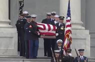 美国前总统老布什国葬结束 遗体将被送回家乡休斯顿安葬