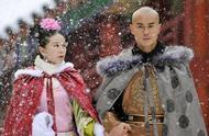 雪中故宫美哭,自带下雪特效的刘诗诗更美!定情四爷的雪舞最经典