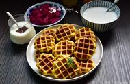 我做了这样的早餐,家人都夸非常新颖又很好吃,喝的都准备齐全