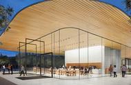 苹果公园游客中心面向公众开放参观游览