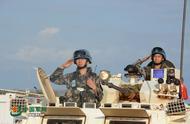 中国维和步兵营武装护卫分队出征