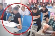河南一女干部开会抠脚 政府工作人员:处理中