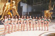 高能预警泳装亮相,2019香港小姐15强出炉,诸佳丽各有千秋