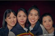 《中国女排》四位90后姑娘拍摄写真,重现八十年代女排飒爽英姿