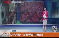 [早安四川]农业农村部:猪肉价格已开始回落