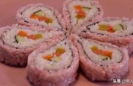 想吃寿司不用买,这是懒人寿司的做法,不用担心不会卷,好看好吃
