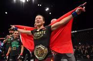 她是中国首位UFC冠军!她说:女性不应该被定义 她可以有很多面