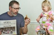 当一个男人有了女儿,他会变得毫无原则,明星也不例外