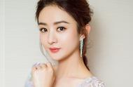 赵丽颖蕾丝薄纱绢花礼服写真,笑容甜美,超有气质,美不胜收
