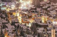 瑞士雪夜,这就是梦幻里的童话世界吧