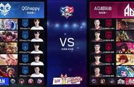 王者荣耀KPL:AG超玩会 4:1击败QGhappy,拿下KPL秋季赛总冠军