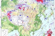 冷空气超生?1045百帕酝酿中,华南有降温区,风神或360度大转弯
