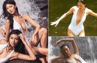 林志玲身材有多好?看到她洗澡的照片后