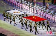 第七届世界军人运动会开幕式精彩瞬间