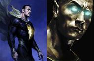 能硬刚超人的反派,巨石强森主演超级英雄片《黑亚当》即将开拍