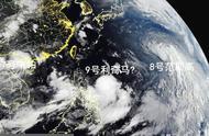 8号范斯高提速,潜力升至45米/秒,9号台风即将到来,或16级?