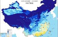 北方地图冻到发黑!网友:终于明白为啥广东以上都是北方了