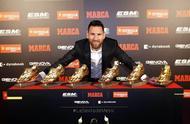 荣耀!梅西领取第6座欧洲金靴!获奖感言凸显梅西人品