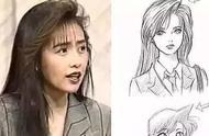 工藤静香,据说《名侦探柯南》里的女主 毛利兰的原型就是她