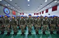 中国第六批赴南苏丹(朱巴)维和步兵营举行出征誓师大会