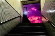 日本各地区出现了罕见的粉紫色天空....迷人的危险