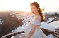 迪丽热巴身穿白色婚纱,大秀好身材,网友表示:想娶