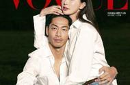 林志玲与丈夫Akira一同登上台版《VOGUE》12月刊封面