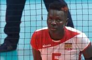 中国女排战胜肯尼亚女排 8连胜 肯尼亚五号球员神似卡佩拉
