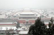 跟着我们的镜头,到故宫、景山去看雪