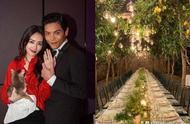 向佐郭碧婷意大利完婚,柠檬树下举行婚礼,新郎新娘造型曝光