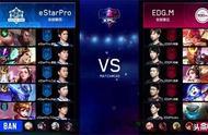 王者荣耀KPL:EDGM 4:1击败eStarPro挺进季后赛下一轮