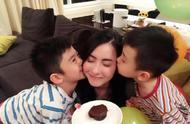 张柏芝为小儿子庆生,甜蜜喊话:我有三个儿子,我很幸福