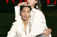 林志玲与丈夫 AKIRA 一同登上台湾版《Vogue》新刊封面